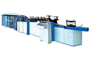 GYWFD-800W Paper Yarn Compounded bag making machine